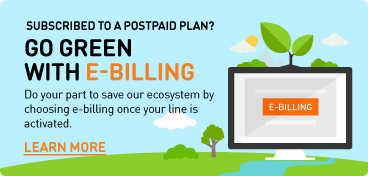 Go Green with E Bill